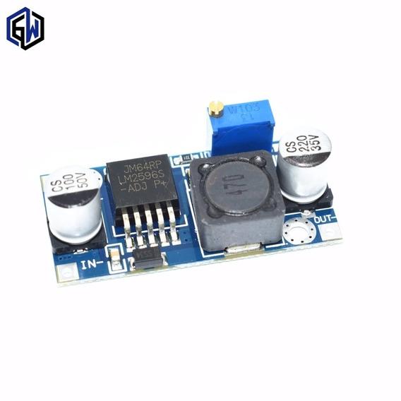Kit 5 Conversor Tensão 3a Step-down Lm2596 Arduino Pic