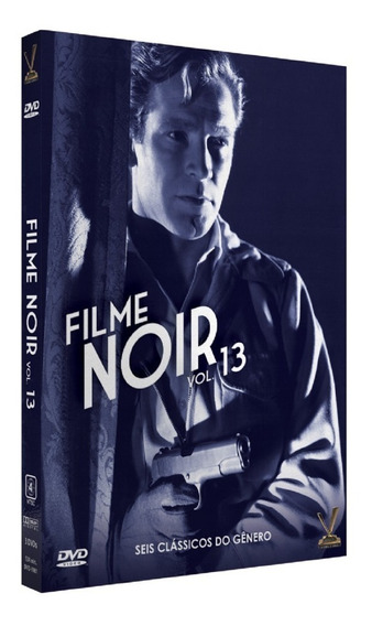 Filme Noir Vol 13 - 6 Filmes - Original Lacrado