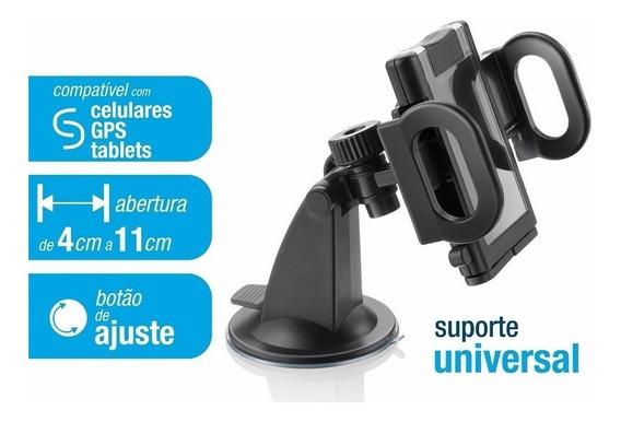 Fixador Veicular Com Ventosa Multilaser Gps Celulares Tablet