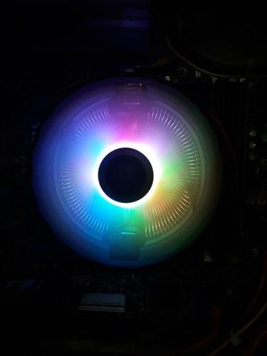 Fan Cooler De Cpu Rgb, Ds 1900rpm, 120mm Nuevo!