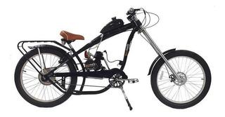 Bicicleta Motorizada Chopper Bicimoto 80cc 2t Modelo Nirve
