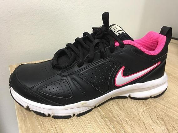 Tênis Feminino Nike Preto T-lite Xl Sneaker