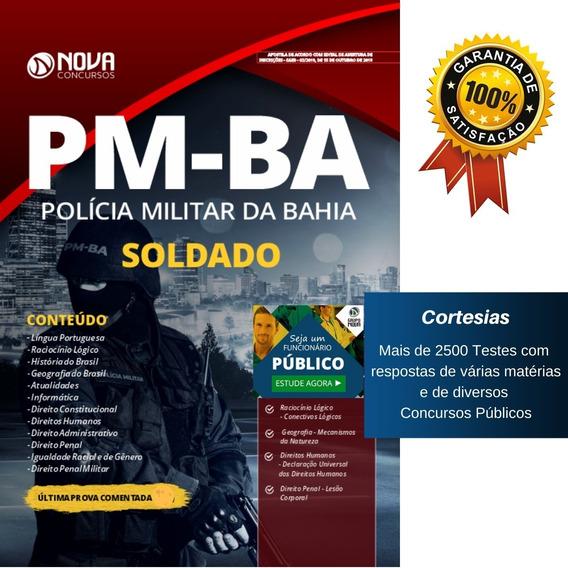 Apostila Pm Ba - Soldado Da Polícia Militar Da Bahia