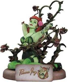 Dc Comics Bombshells Poison Ivy Statue En Oferta Foto Real