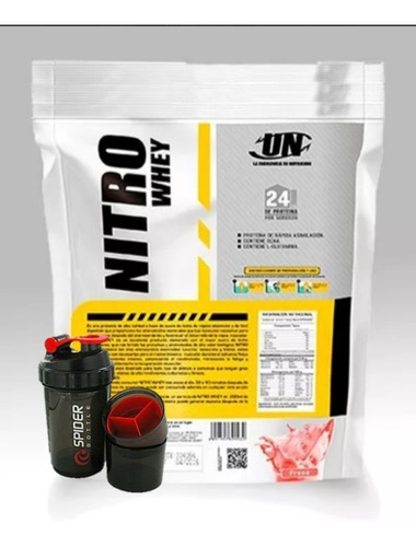 Nitro Whey 5 Kilos + Polo O Shaker ¡¡ Delivery Gratis !!