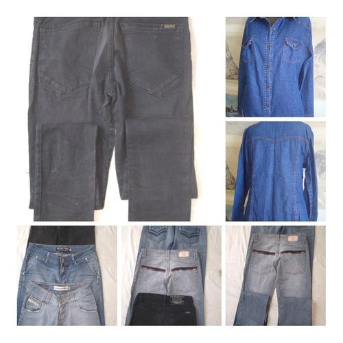 Pa56 Pantalon (3)camisa(1) De Jeans Talles 3/30/38/42 $ 2400