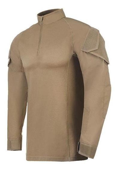 Camisa Tática Invictus Operator Caqui Mojave - P