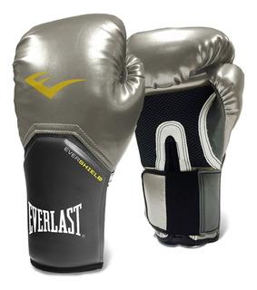 Luva Everlast - Muay Thai - Boxe Pro Style Elite [prateada]