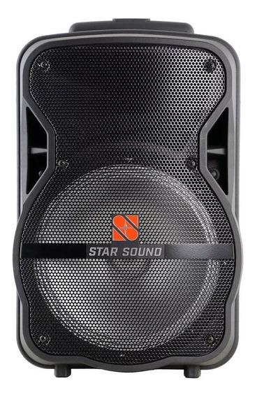 Caixa Ativa Bluetooth Star Sound Ss100 By Staner Portatil