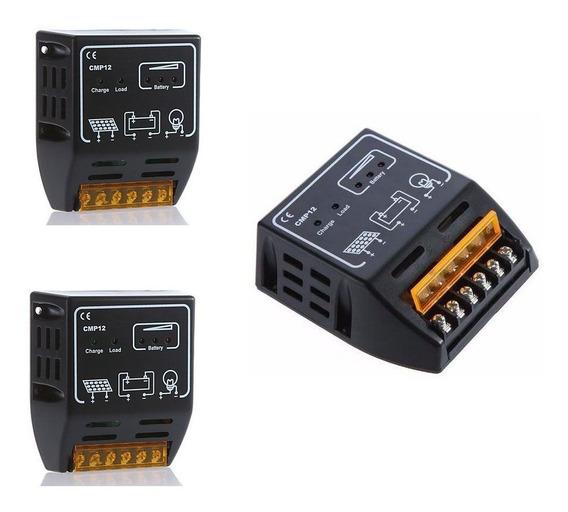 Kit 03 Controladores De Carga 20a 12v/24v 240w/480w Nfe