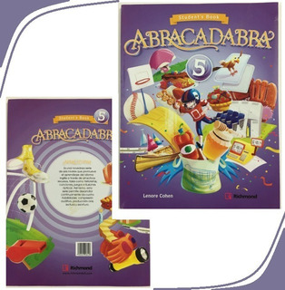 Libro De Ingles Abracadabra 5 5to Grado Editorial Richmond