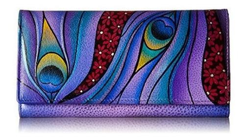 Cartera De Anna By Anuschka Con Diseño Multicolor