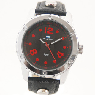Reloj Williams Wih0024 Carcasa Acero Malla Cuero 3 Bar Envio Gratis Watch Fan Locales Palermo Y Saavedra