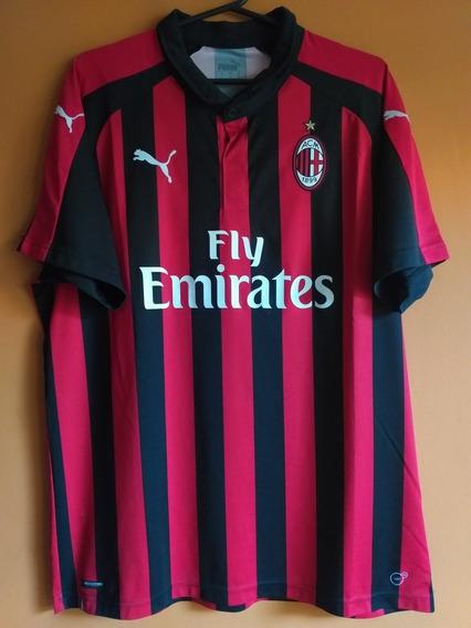 Camiseta Del Milan #21 Biglia
