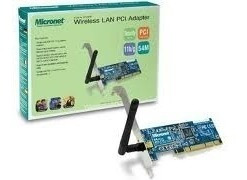 Placa De Red Wifi Micronet Sp906gk 54 Mbps
