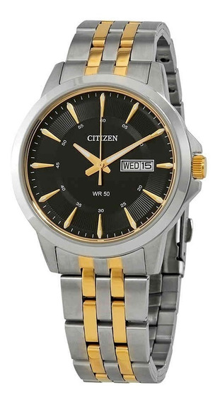 Reloj Citizen Bf2018-52e Acero Plateado/dorado/negro Hombre