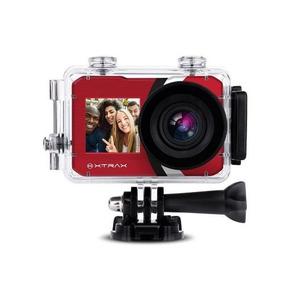 Câmera Xtrax Selfie 4k Vermelha 801021 C Nota+garantia