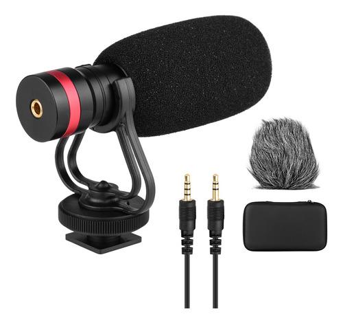 Microfone Condensador Direcional Cardioide Com Anti-choque