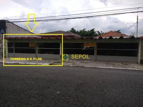 Casa Com 2 Dormitórios À Venda, 300 M² Por R$ 550.000,00 - Jardim Egle - São Paulo/sp - Ca0128