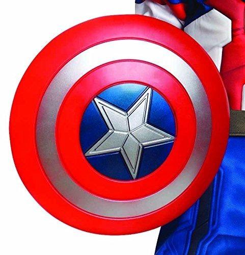 Disfraz De Capitán América Más Escudo Con Luz Y Sonido !!