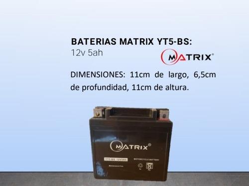 Baterias Ytx5l-bs (12v 5ah)