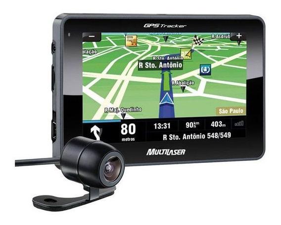 Gps Tela 4,3 Multilaser Tracker Iii Câmera De Ré E Tv Gp035