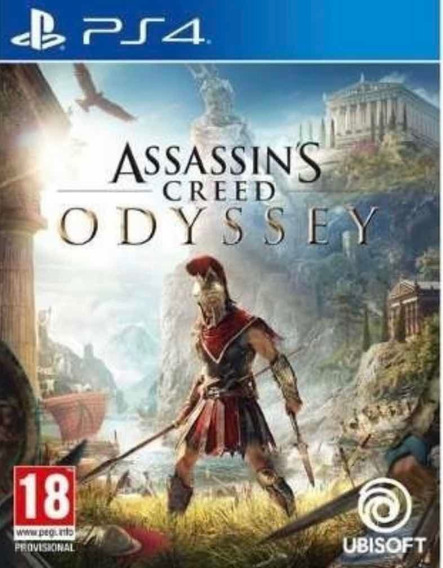 Assassins Creed Odyssey Ps4 Original Vitalício