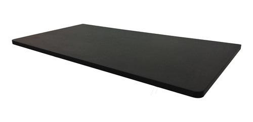 Mesa Dobrável Parede Bancada Mdf Preta 60x45cm