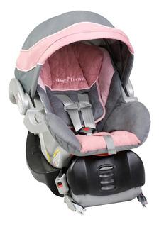 Portabebe Autoasiento Baby Trend Flex Loc Latch Rosa