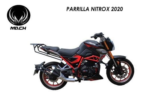 Imagen 1 de 4 de Parrilla Vento Nitrox 250 2020 Cajuela Porta Bultos