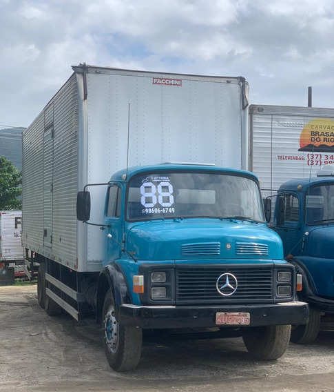 Caminhão Mercedes Benz Mb 1114 - Truck Baú