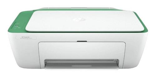 Imagen 1 de 4 de Impresora a color multifunción HP Deskjet Ink Advantage 2375 blanca y verde 100V - 240V