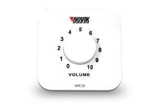 Control Volumen Instalacion Parlantes Novik Wrc-30 101db