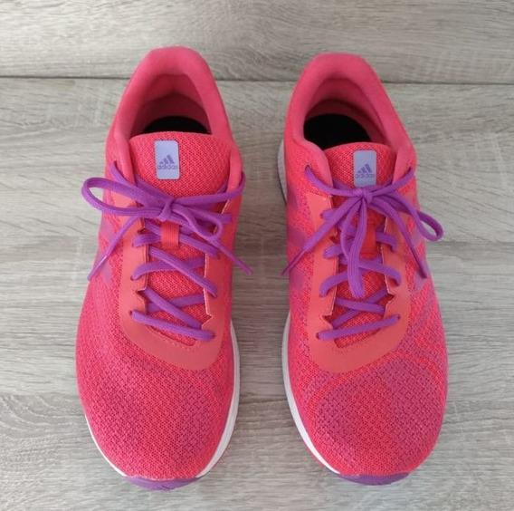 Tênis Esportivo Original adidas Rosa Pink Semi Novo