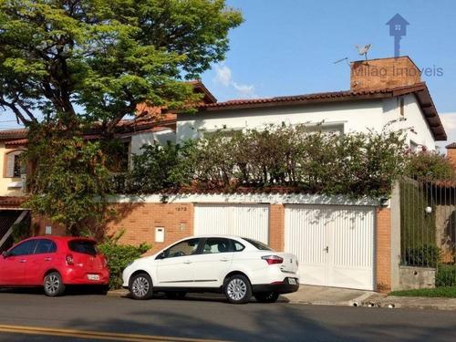 Sobrado A Venda 4 Dormitórios Com Piscina, Em Sorocaba/sp Bairro Santa Rosalia. - So0123
