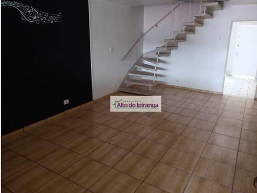 Sobrado Com 2 Dormitórios Para Alugar, 150 M² - Vila Santo Estéfano - São Paulo/sp - So1169