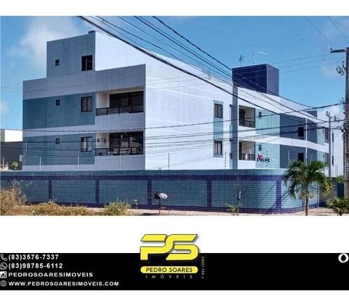 Apartamento Com 2 Dormitórios À Venda, 70 M² Por R$ 230.000 - Aeroclube - João Pessoa/pb - Ap4920
