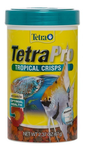 Imagen 1 de 1 de Tetra Tetrapro Tropical Crisps 67 G. Alimento Peces Nutricion Dieta Equilibrada