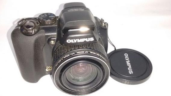 Câmera Olympus Sp565uz Não Liga