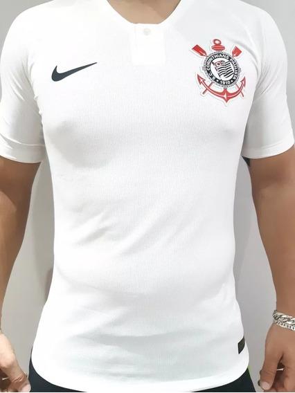 Camisa Corinthians Nike Jogador 18/19original Promoção Black