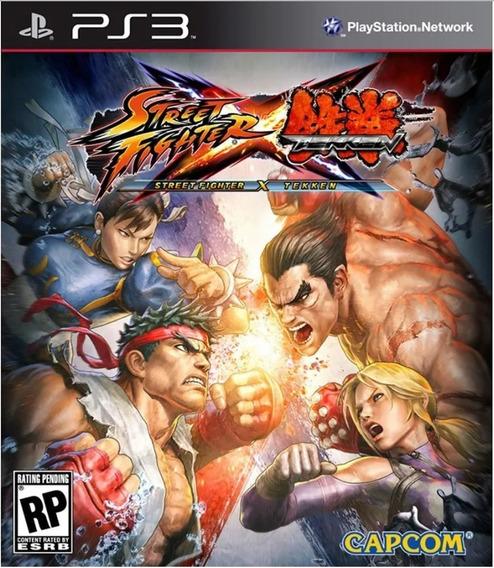 Street Fighter X Tekken Jogo Ps3 Em Oferta