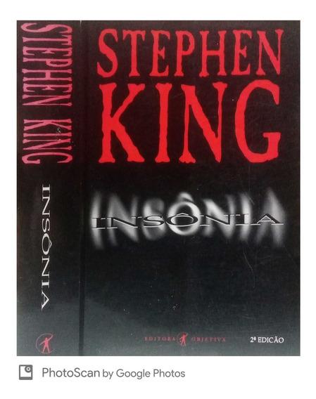 Insônia Stephen King - Objetiva 2 Edição - 1995 Bom Estado