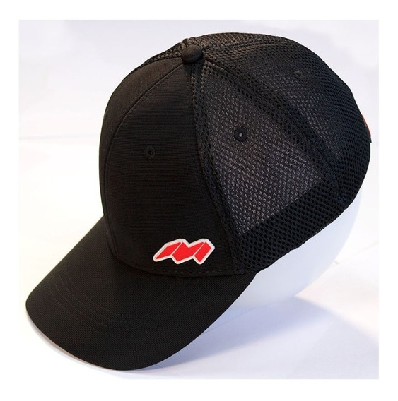 Gorra Cachucha Trucker Marca Mirage 3 Color Negro