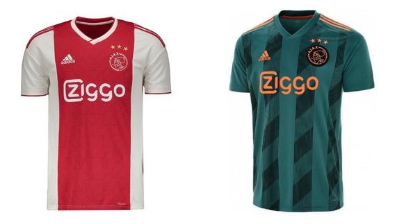 Novo Kit C/2 Camiseta Blusa Ajax Mega Saldão Envio Grátis