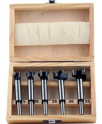Set 5 Brocas Forstner  Bisagra, Muebles De Cocina Y Puertas