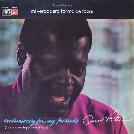 Oscar Peterson - Mi Verdadera Forma De Canta Disco Vinilo Lp