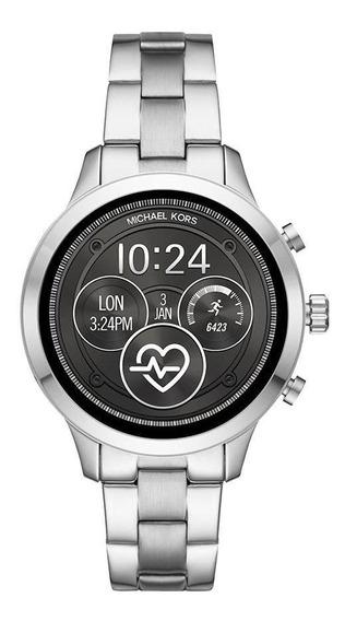Smartwatch Michael Kors Feminino Runway Prata - Mkt5044/1ki