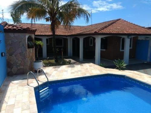 Casa Com Piscina Em Itanhaém. Ref. 7414 M H