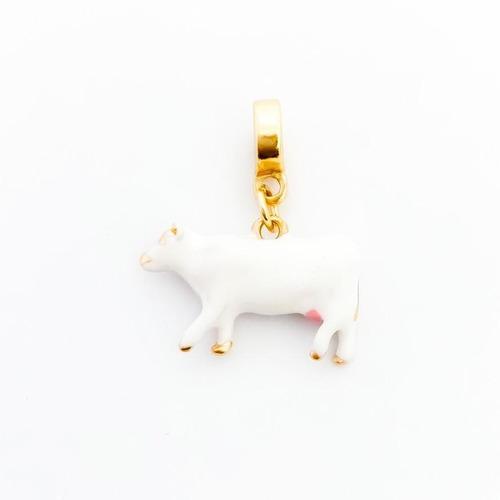 Imagem 1 de 1 de Berloque Vaca Com Teta - Bd_1806
