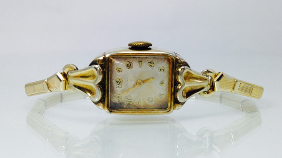 Reloj Elgin P/dama 14k Gold Filled (inv 624)